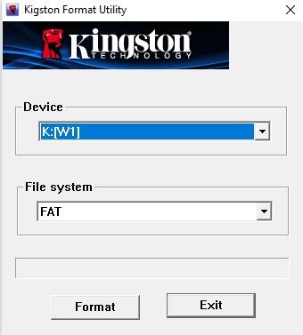 Восстановление флешки datatraveler 102. Как восстановить флешку Kingston: лучшие приложения и эффективные способы
